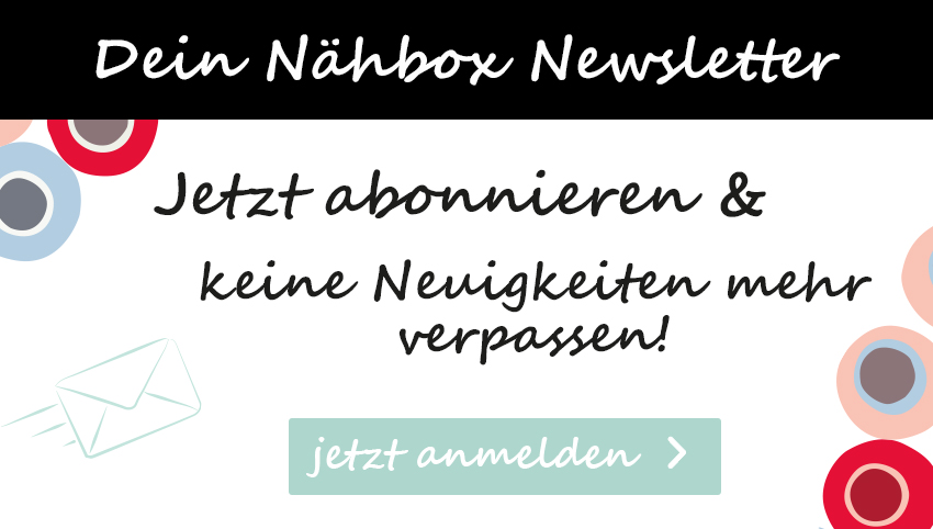 Nähbox - Newsletter